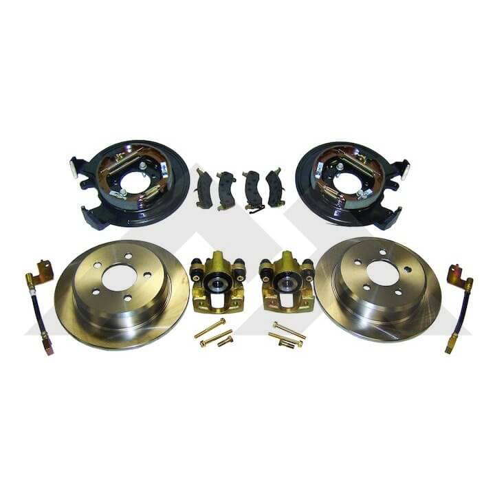 Jeep Cherokee XJ , Disc Brake Conversion Kits