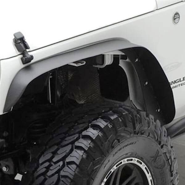 jeep wrangler jk jku 2007 2017 fender flares dpg off road. Black Bedroom Furniture Sets. Home Design Ideas